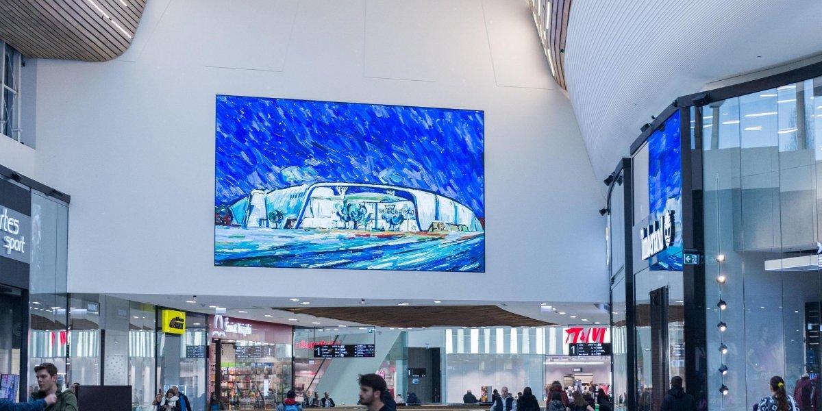 Wroclavia. Oferta dla galerii handlowych. Rozwiązania multimedialne. Digital Signage. Ekran LED.