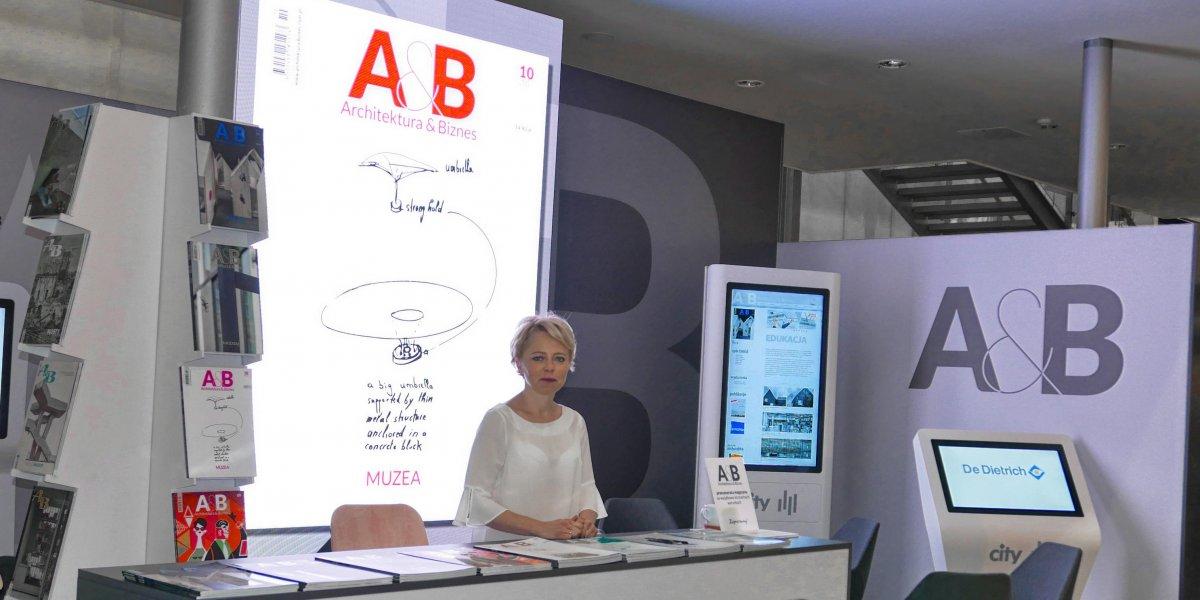 Architektura&;Biznes. Expo. Projektowanie i zabudowa stoisk targowych. Rozwiązania multimedialne. Digital Signage. Kioski multimedialne I CITY. Ekspert komunikacji wizualnej